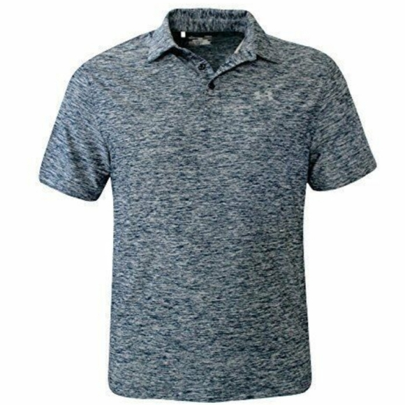 Under Armour Elevated Heather Stripes Polo